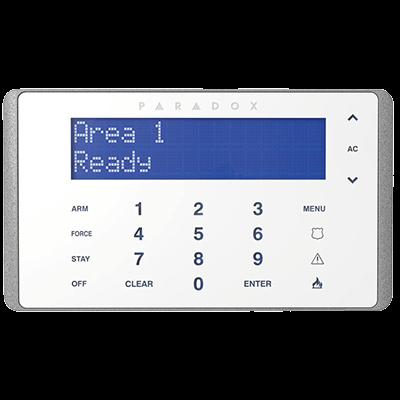 Laidinė EVO klaviatūra K656 apsaugos sistemoms